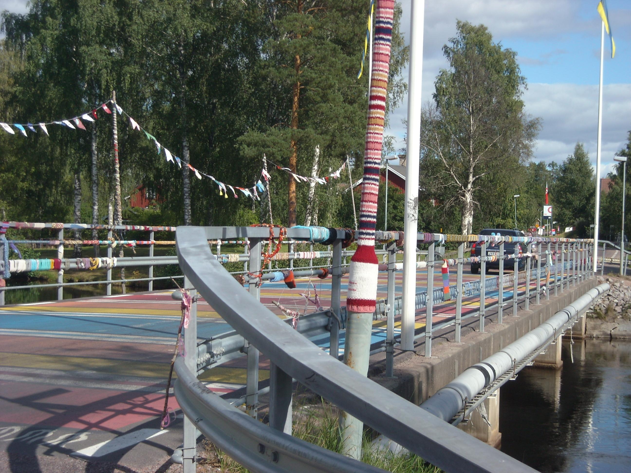 Stickade bron